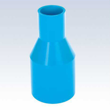 UPVC JIS K-6743 Pressure Reducing Socket Blue Color
