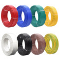 BV0.5MM Square Meters Tinned Anaerobic Pure Copper Single Strand Hard Wire PVC Insulated Line AV 0.8 MM Electric Cable