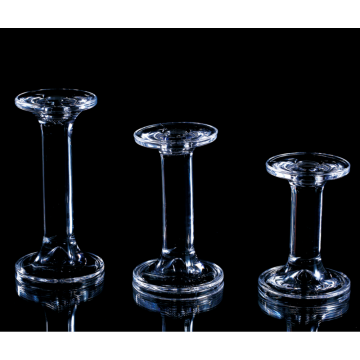 cheap taper glass candle holders