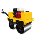 Small compactor double wheel vibratory roller