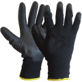Black PU Coated Work Gloves