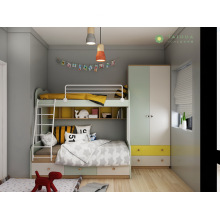 Customized Kids' Bedroom with Bunk Bed
