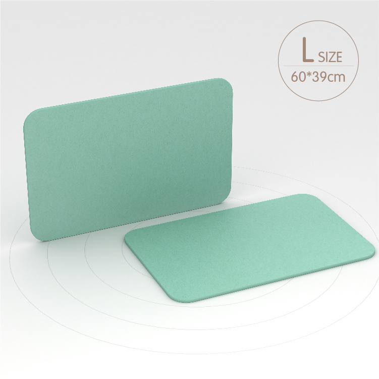 Healcier Water Absorption Diatomaceous Diatomite Bath-Mat