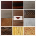 Furniture surface wood wall paneling