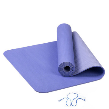 Melors wholesale price TPE yoga mat double color