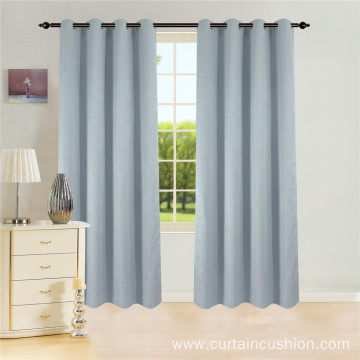Ready Made Blackout Eyelets Curtain