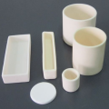 99% Corundum Alumina Ceramic Crucible do topienia metalu