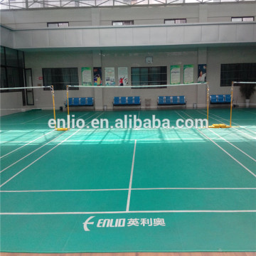 PVC Badminton floor sports flooring Badminton Court Flooring