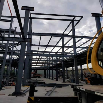 Small Warehouse Buildings Prefabricated Steel Structure