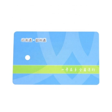Rfid Smart Blank PVC Chip Id Card