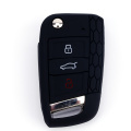 Silicone Key Case For 3 Buttons VW Golf7