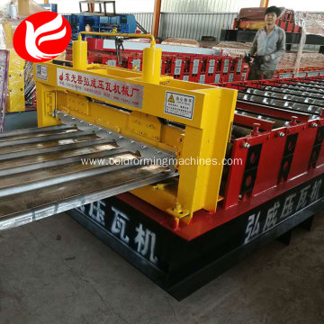Hydraulic galvanized roofing sheet roll forming machines