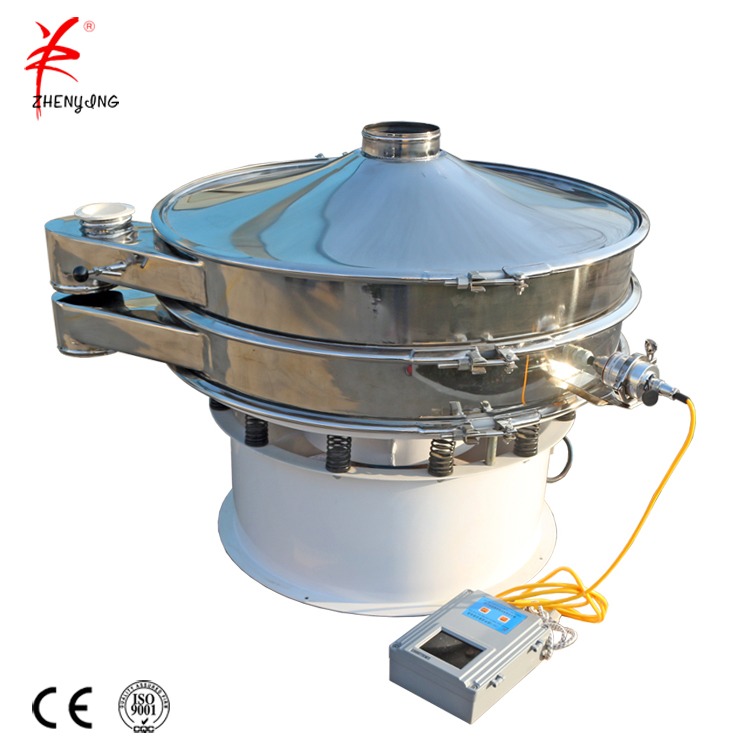Ultrasonic anti clogging sieve machine for fine metal powder
