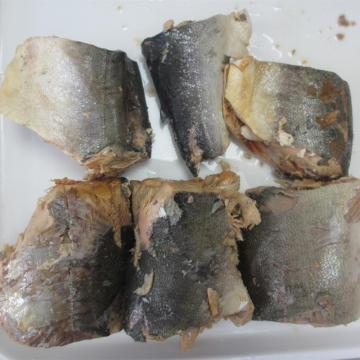 Pink Salmon In Water With Salt In Can