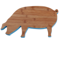 Pig bamboo cutting board
