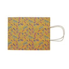 Mix Color Shopping Handle Kraft Paper