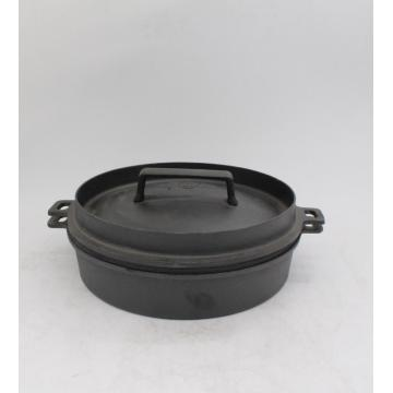 Cast iron cookware for cooking and frying