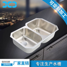 undermount kitchen stainless steel sink in standard size