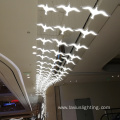 Large project luxury lobby supermarket pendant light