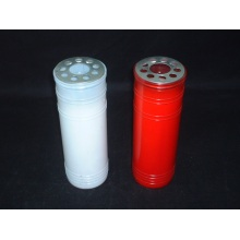 High Quality Platic Tin Candle Used for Grave