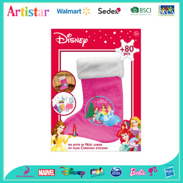 DISNEY PRINCESS Christmas Stocking attractive art set