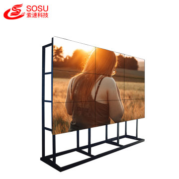 high resolution 4K narrow bezel lcd video wall
