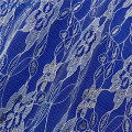 Fashion Nice Flower Polyester Wedding Tulle Lace Fabric