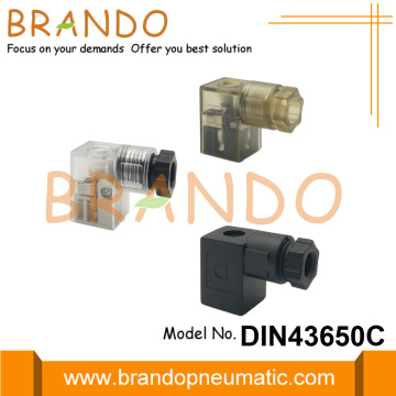 DIN 43650 Form C Solenoid Coil Electrical Connector