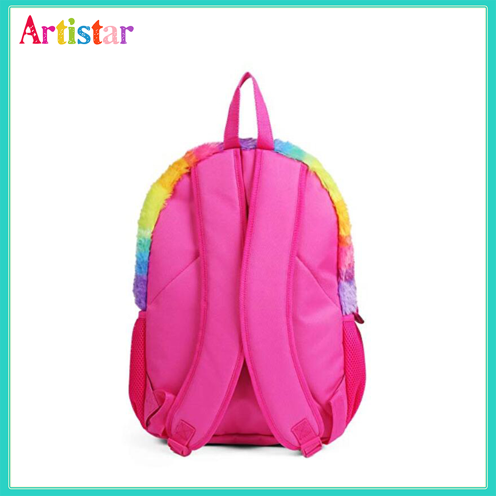 Soft Plush Backpack 03 3