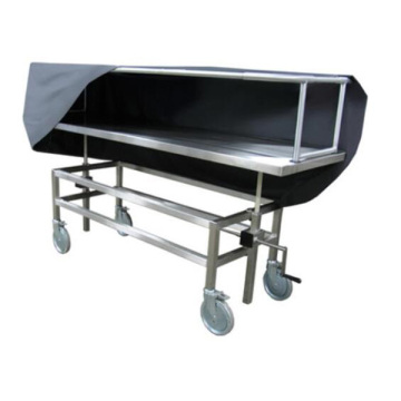 Hot sale 304 stainless steel hospital mortuary mortuary stretcher