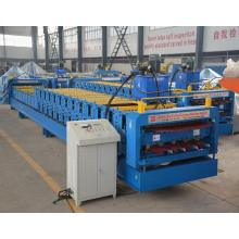 Galvanized Color Steel Sheet Double Deck Roof Tile Making Machine