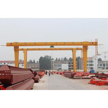 20ton high safety strong double girder gantry crane