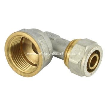 Brass compression Female elbow fitting
