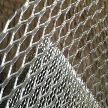 Decorative Aluminum Powder Coated Expanded Metal Mesh