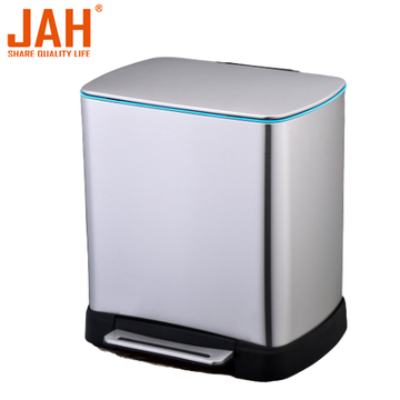 JAH 430 Stainless Steel Pedal Trash Bin Composter