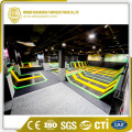 Trampoline High Breaking Strength PVC Coated Fabric