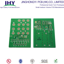 Double Sided Copper Clad PCB Control Circuit