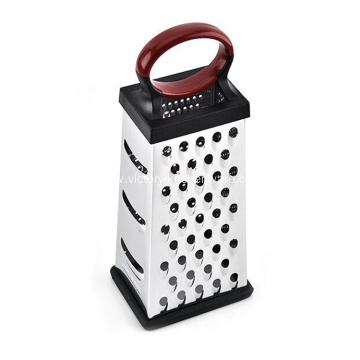 Stainless steel 4-sided kitchen box grater
