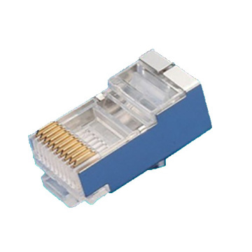 Plug 10P10C Serial shielded Type