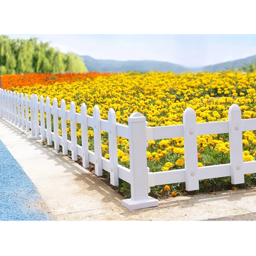 Factory Direct PVC Garden Lawn Picket Fence