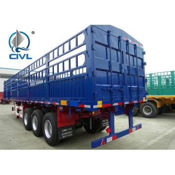 Light Self - Weight Cargo Semi Trailer Truck