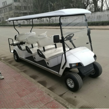 Supply of 8 seater new gasoline golf car for rental
