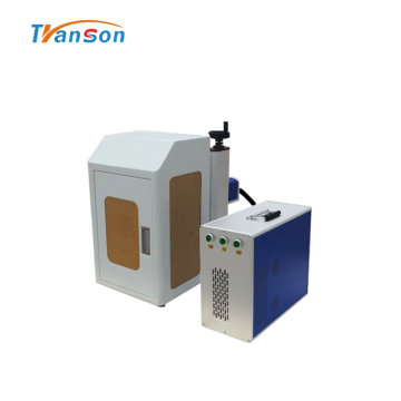 20W Mini Enclosed Fiber Marking Machine With Cover