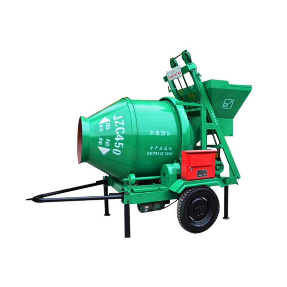 electrical concrete mixer