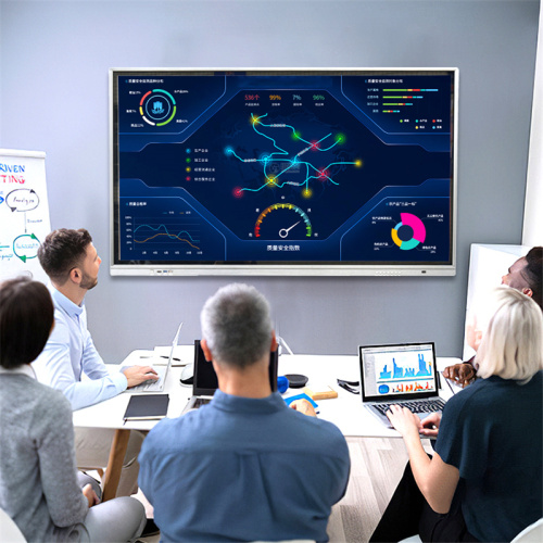 interactive flat panels touch screen monitor