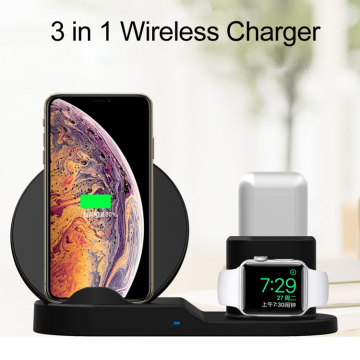 10W 3 IN1 wireless Charger for mobile phone