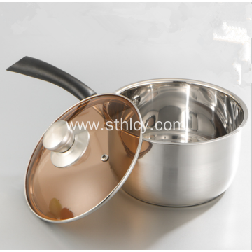 High Quality Single Handle Stainless Steel Milk Pot