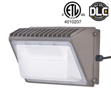 30W-100W Led Wall Pack Light ETL / DLC 5000K