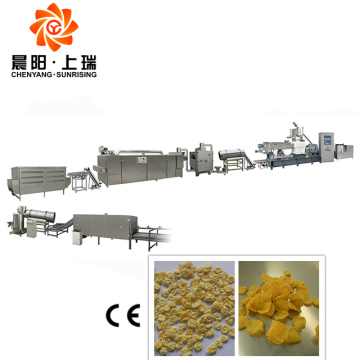 Breakfast cereal machines corn flake extrusion machine