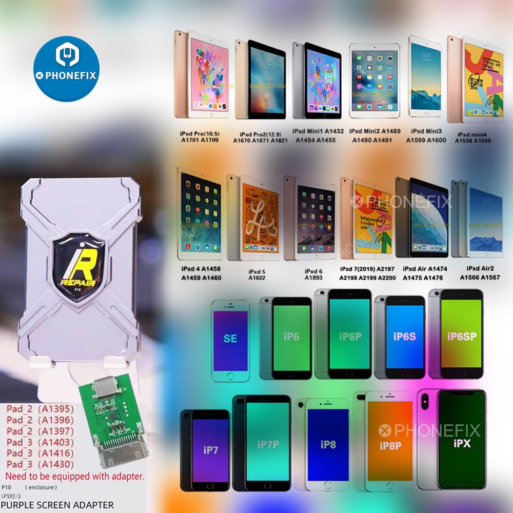 IRepair P10 DFU BOX IBox Non-Removal Programmer for Iphone Ipxd Development Firmware Mode SN Read Write One-Click Unpack WiFi